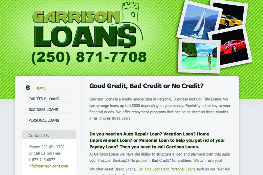 Personal Loans in Garrison, UT