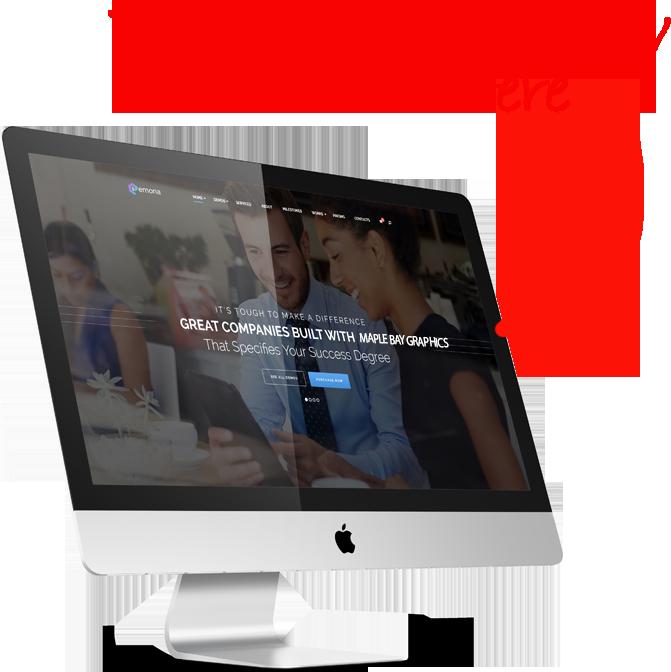 cowichan valley website designer graphics
