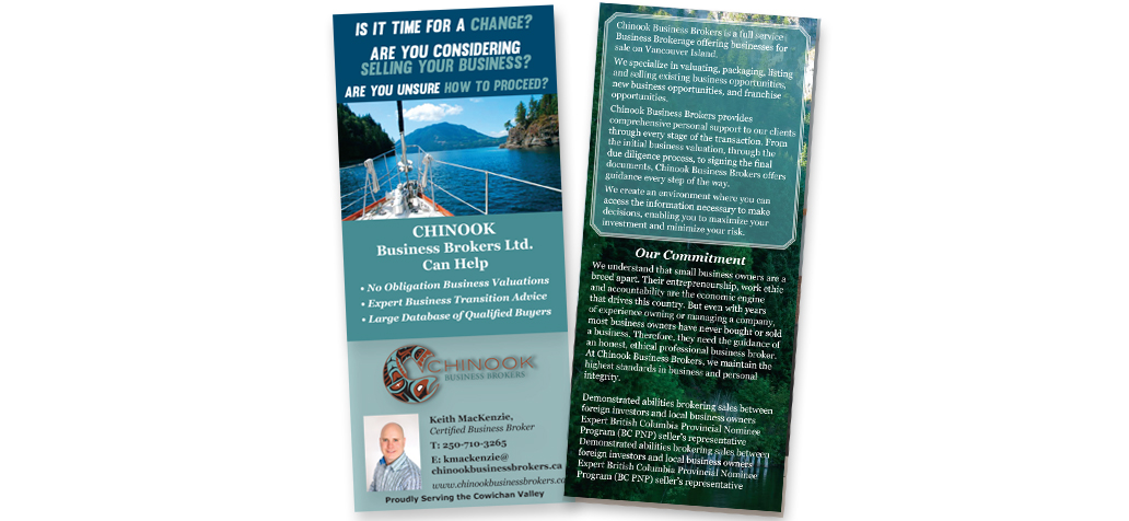 Graphic Design Print Services Cowichan Valley