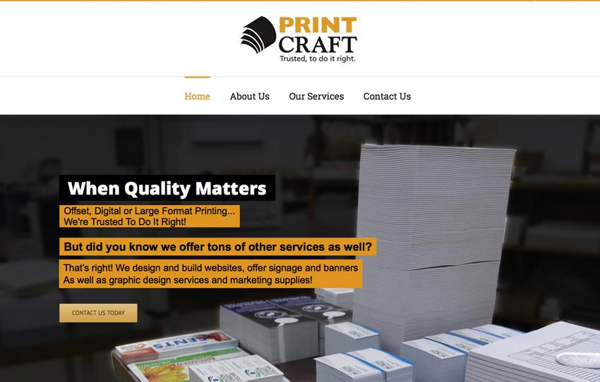 graphic designer websites vancouver island