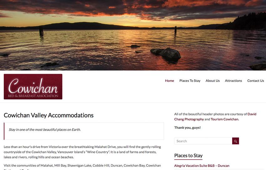 cowichan valley website designers