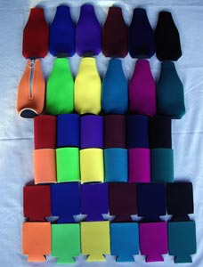 koozie colors assortment
