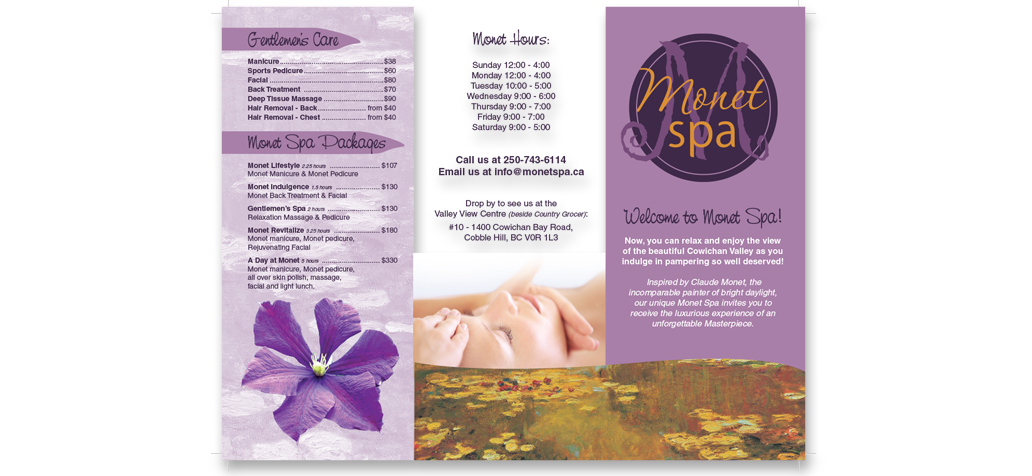 Graphic Design Services for Brochures