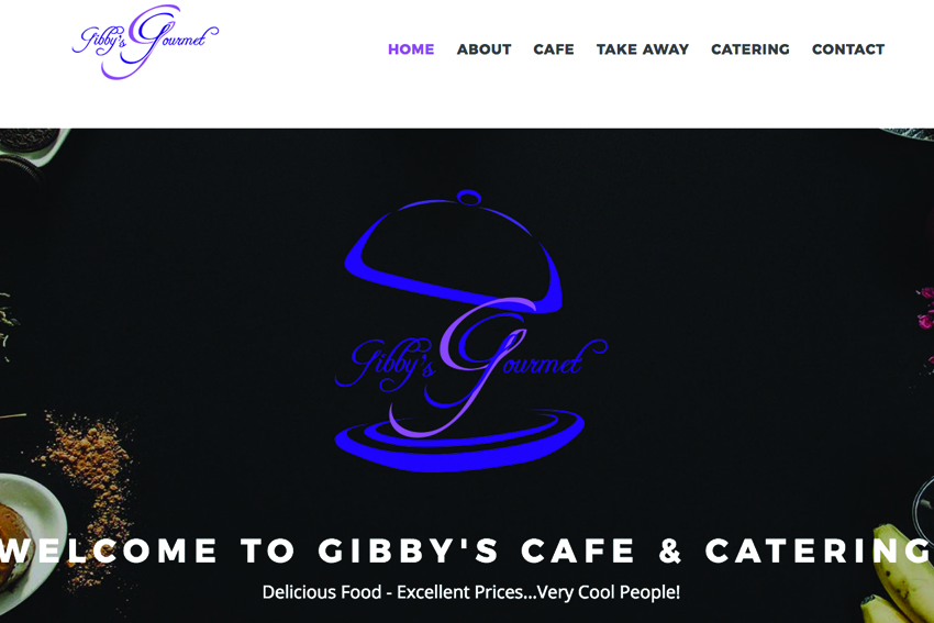 Catering Company Website Design Services Vancouver Island
