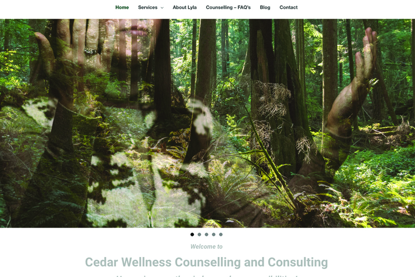 Counselling Website Design Services Vancouver Island