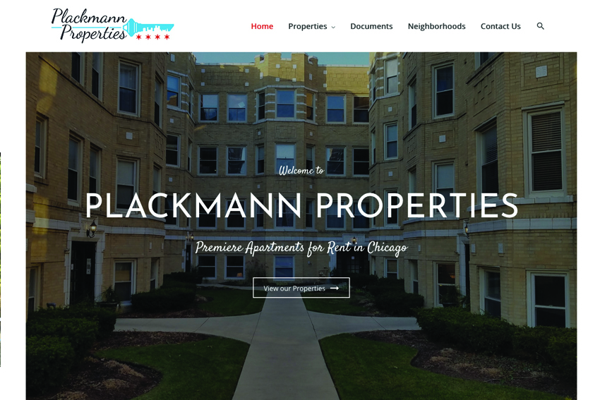Property Management Website Design Services Vancouver Island